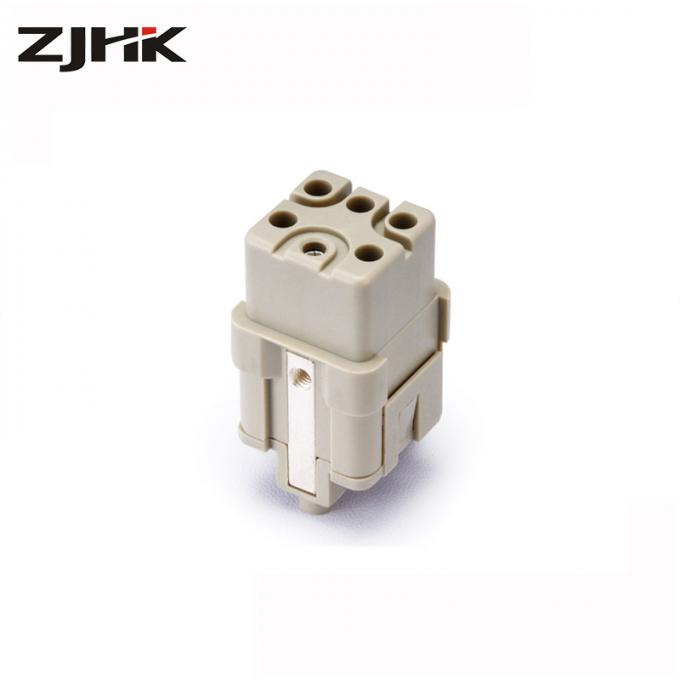 Compact Female Multipole Connectors 230V 400V 16A Crimp Terminal 09120053101