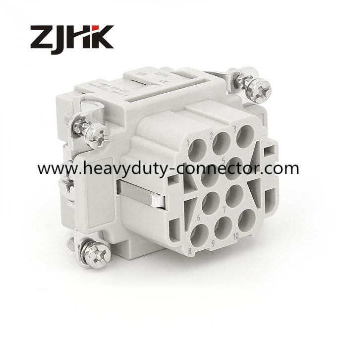 HEE 010 PIN Industrial air conditioner Wind power paddle pulley CONNECTOR heavy duty connector