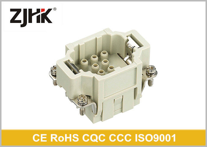Crimp Insert Cable HEE Heavy Duty Rectangular Connector 10 Pin With High Density