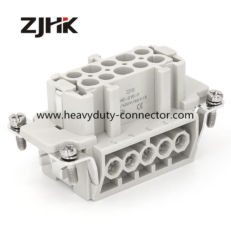 16A 500V 10 Pin Military Vehicle Heavy Duty Connector Female Terminal 09330102701