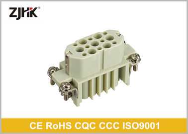 HD Series 15 Pole Heavy Duty Multi Pin Connector / 10 Amp Electrical Connectors