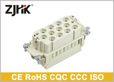 China Industrial Heavy Duty Electrical Connectors , HK - 012 / 2 690V / 250V 14 Pin Connector factory